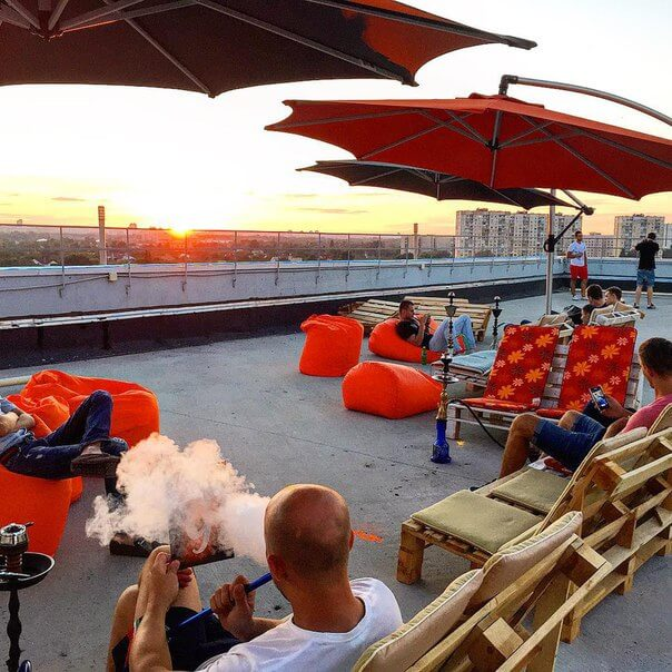 Кальянная Roof Terrace and Lounge фото